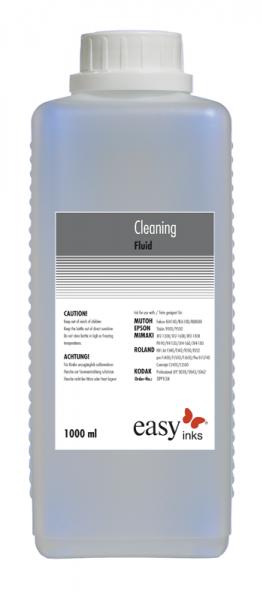 Reinigungsflüssigkeit für Dye-, Pigment- und Sublimationstinten, 1 Liter