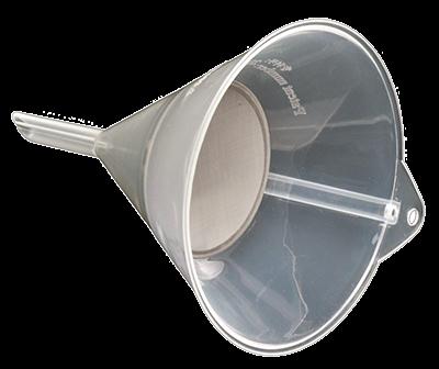 Trichter mit integriertem Filtersieb